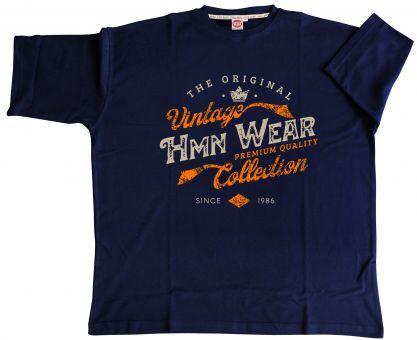 "T-Shirt ""HMN Wear"" navyblue"
