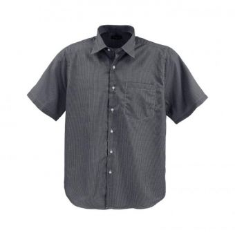 short-sleeved shirt in checked look