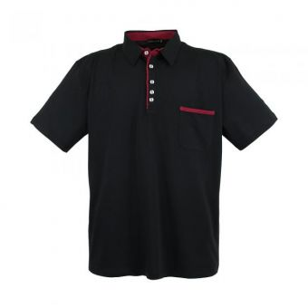 Lavecchia Basic polo shirt in black