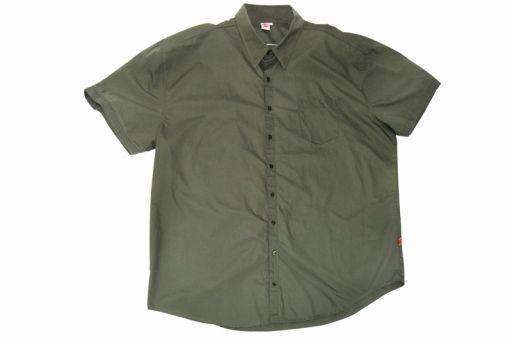 Linen shirt military