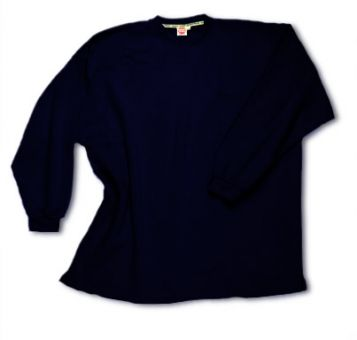 Box-Shaped Sweatshirt navyblue