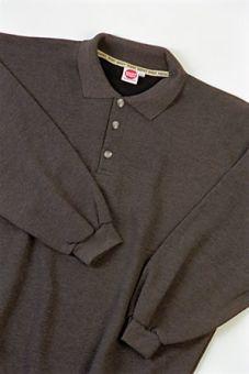 Polo Sweatshirt antracite
