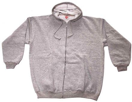 Hooded Sweat Jacket grey
