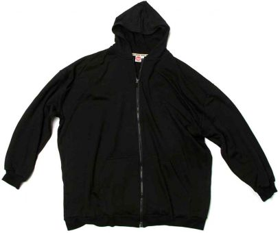 Hooded Sweatjacket black