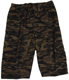 7/8 Bermuda Camouflage