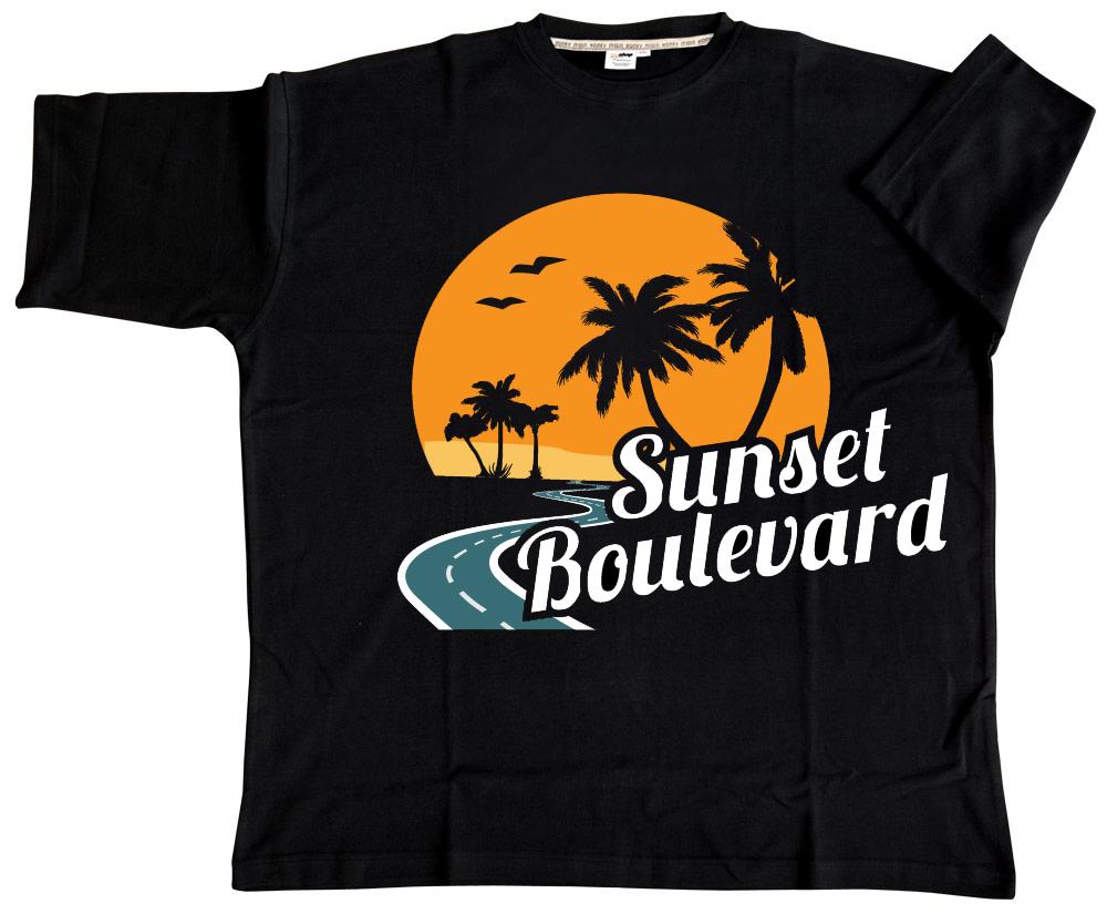 Sunset strip t shirt